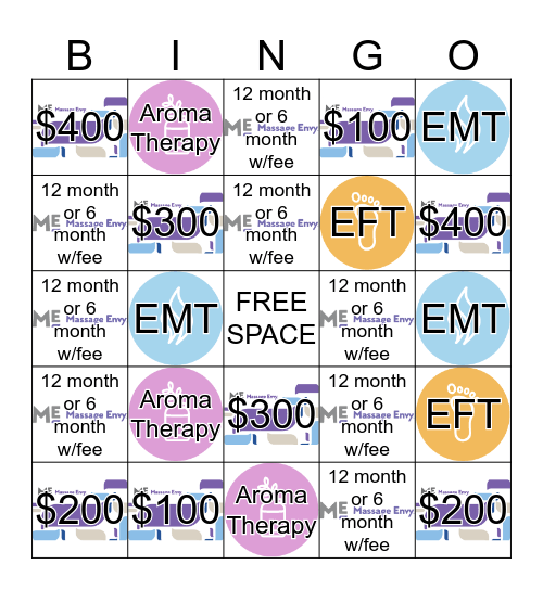 January 2017 Bingo Card