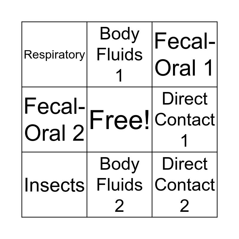 01.08 Bingo Card
