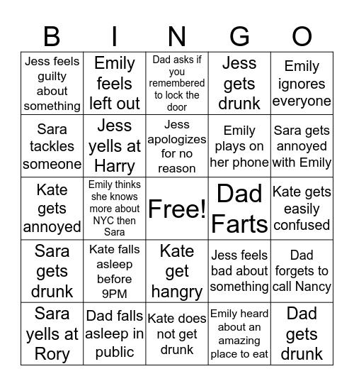 Herbrand Bingo Card