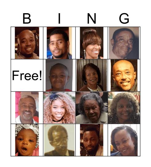 Sumpters Bingo Card
