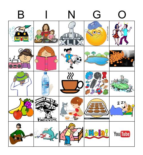 Perfekt Bingo Card