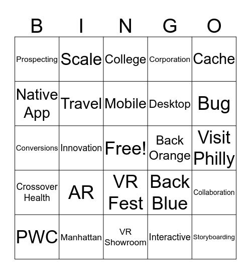 Youvisit Bingo: Round 3 Bingo Card