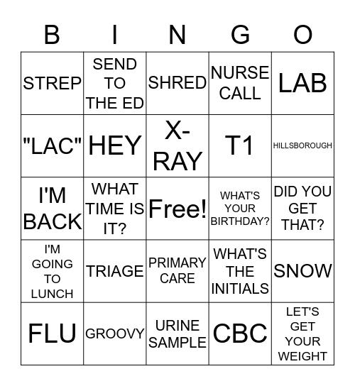 DUC-H Bingo Card