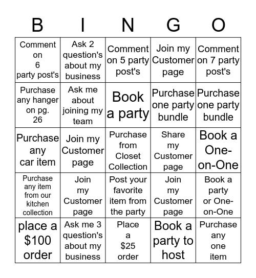 Clever Bingo Card