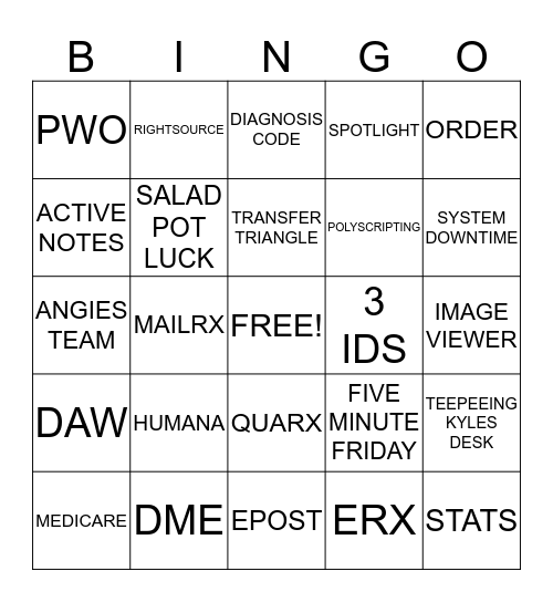~*LAND OF LOTTS*~ Bingo Card