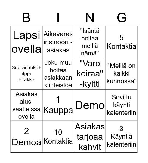 LuukkuBingo Card