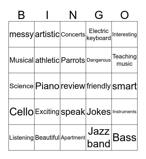 Connect 2 Friday 6-21 Bingo Card