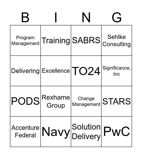 SABRS Bingo Card