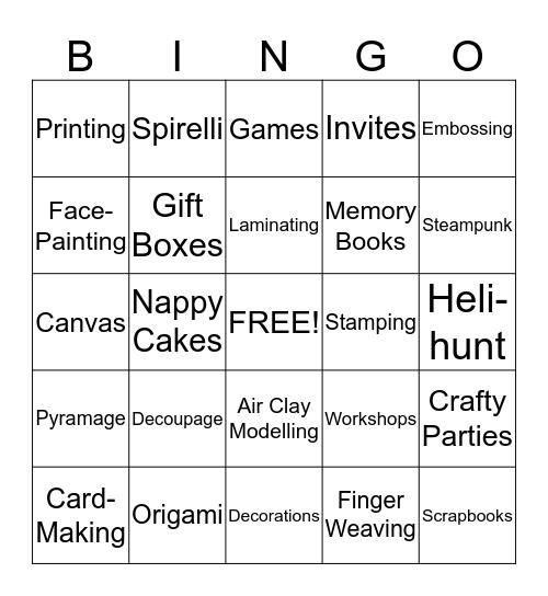 The Freddie Zone Bingo Card