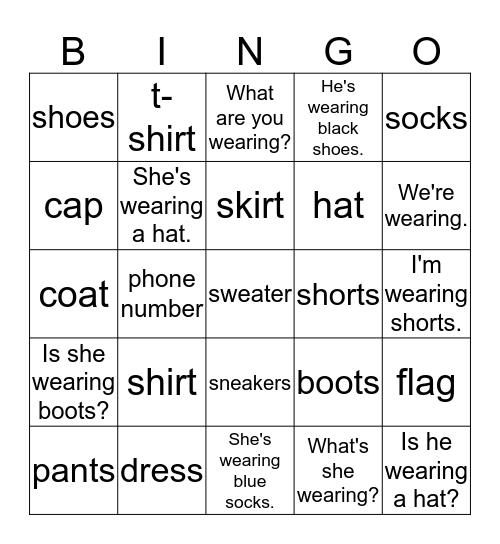 June 26th EBUP Bingo Card