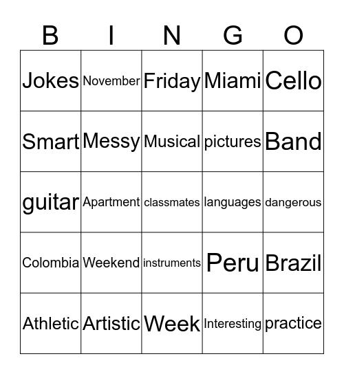 Connect 2 Friday 6-28 Bingo Card