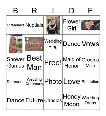Bridal Card Bingo Card