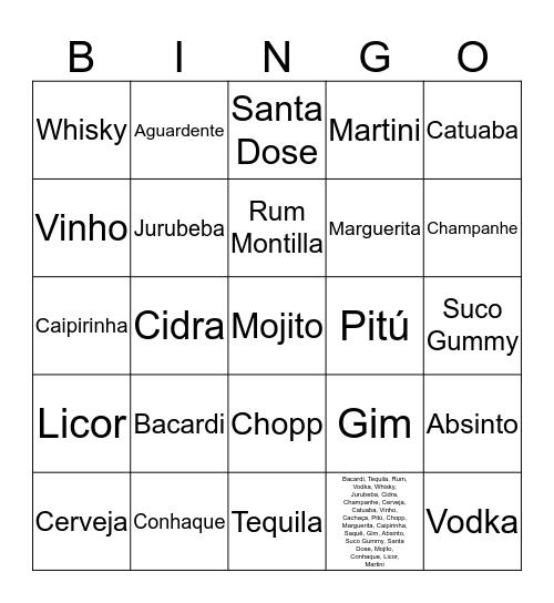 Bingo da Caludia Bingo Card