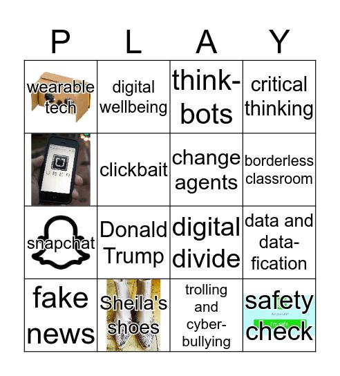 Plymouth Digital Learning HelenB Bingo Card