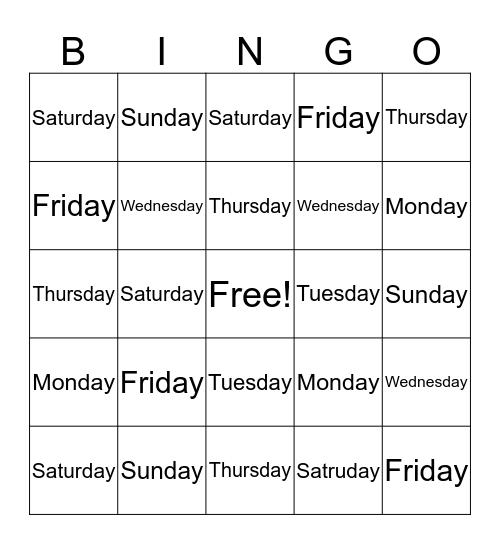 Angela Walker Bingo Card