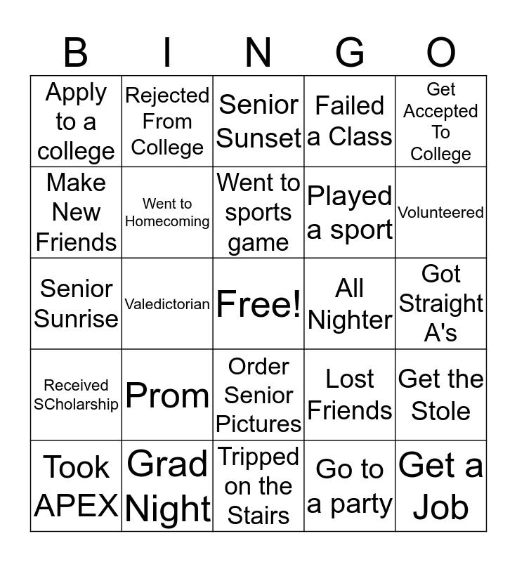 A & A's Bingo  Bingo Card