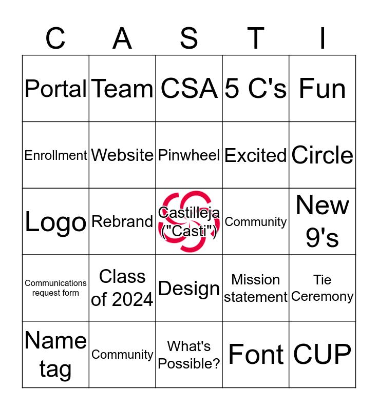 Fundamentals 101 Bingo Card