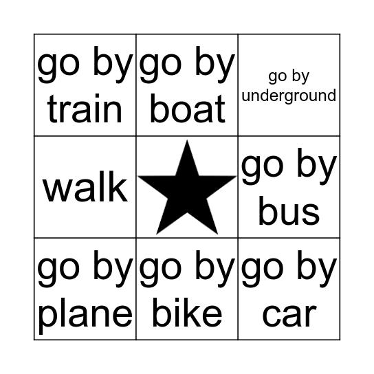 PW 2 Unit 9 Bingo Card
