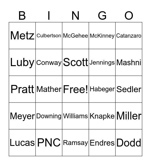 B   A   C   K   E   R Bingo Card