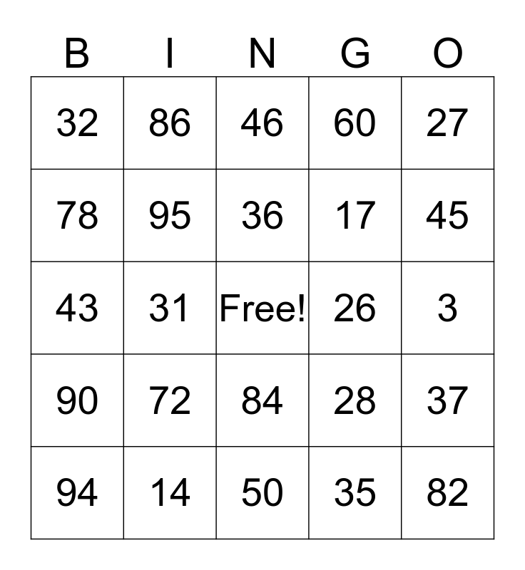 Spanish Loteria Bingo Card