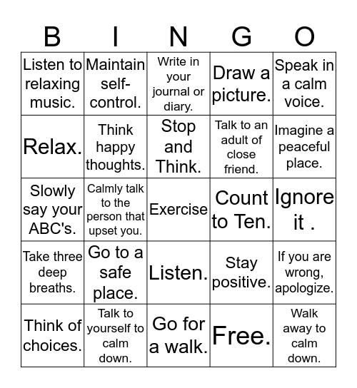 Play Angry Birds. Don't Be an Angry Bird! Bingo Card