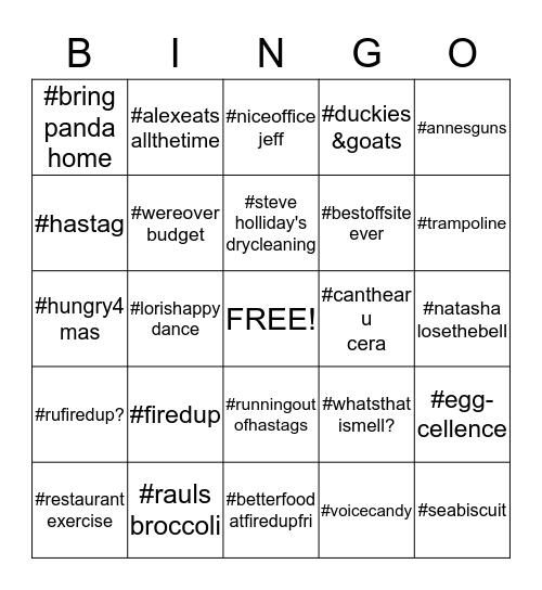 Bell Bingo! Bingo Card