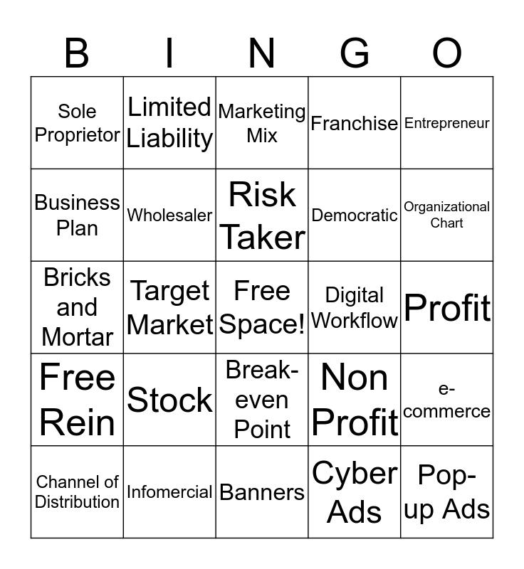 Back to Schoo Night Bingo  Bingo Card