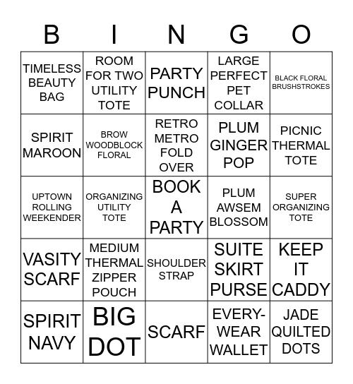 31 Gifts Bingo  Bingo Card
