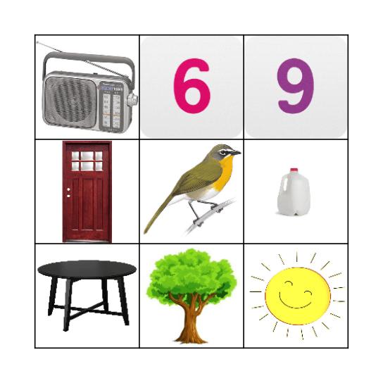 SHISHIBE  Bingo Card
