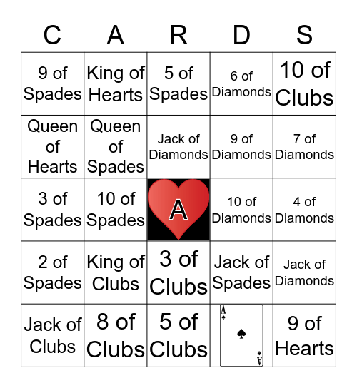 PLAYING BINGO Card