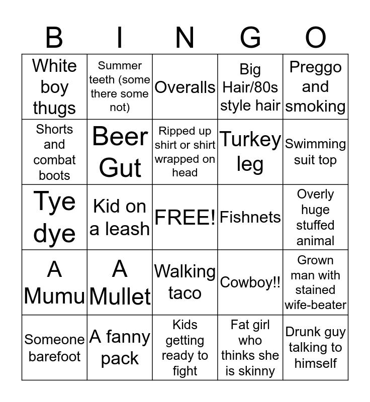 Santacaligon Bingo Card