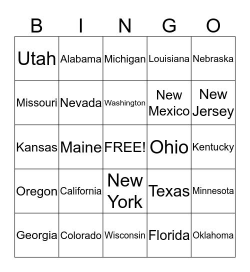 eFaucets Bingo Card