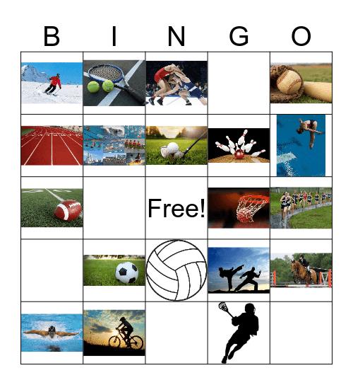 Los Deportes Bingo Card