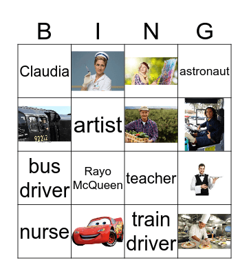 Jobs! Bingo Card