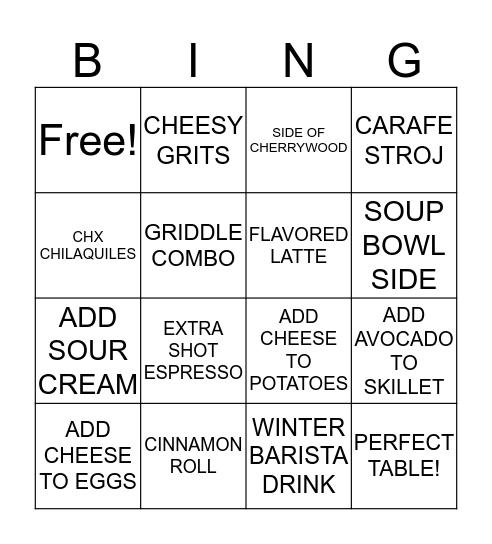 UPSELLING Bingo Card
