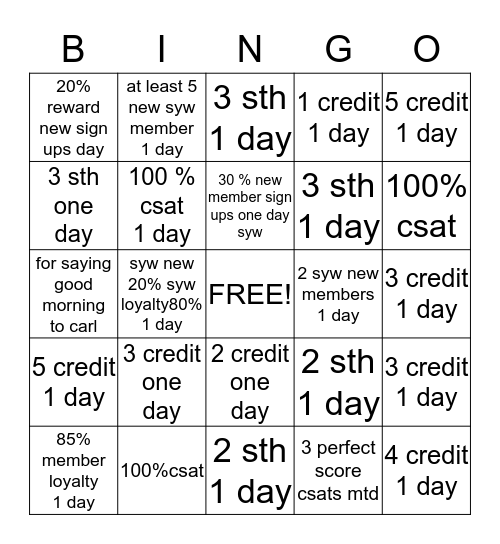 1534 steamroller  Bingo starts 08-13-13 Bingo Card