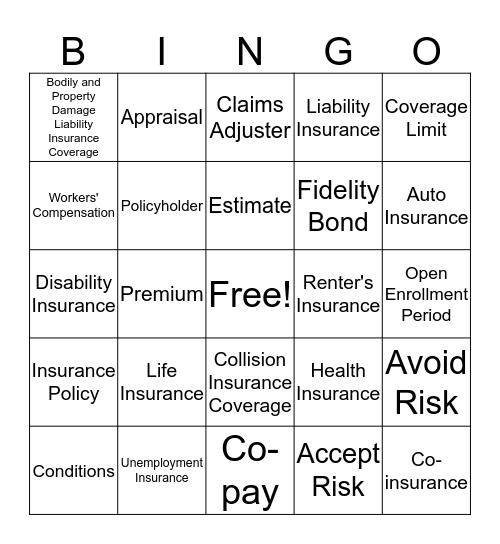 Module 6 Study Guide Bingo Card