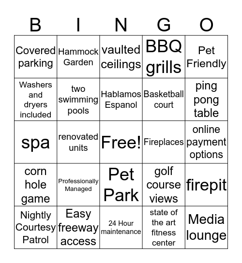 47 Seventy Bingo! Bingo Card