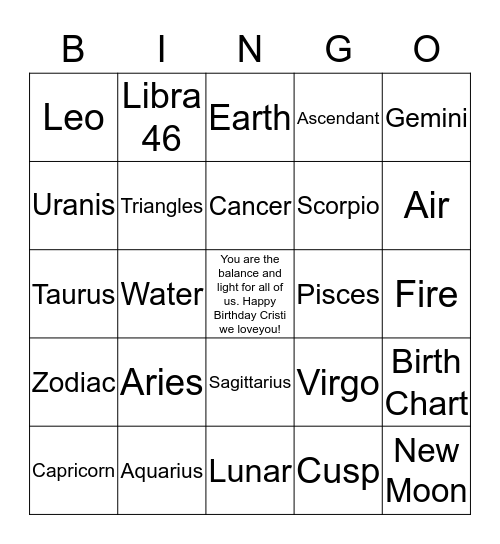 Movin' to the G row.....with sparkle & style Bingo Card