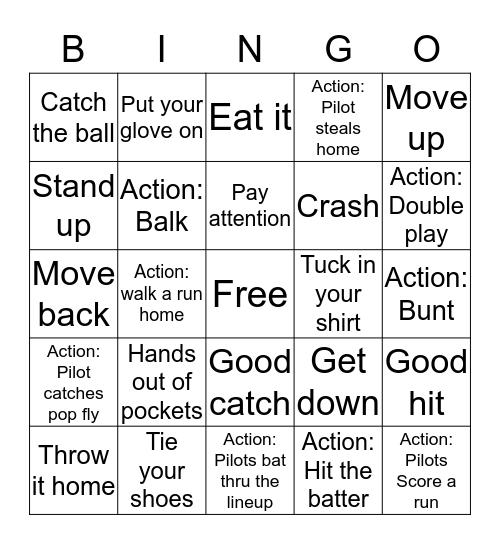 Shannon Kane Bingo Card