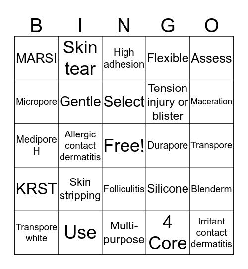 Stick it Bingo! Bingo Card