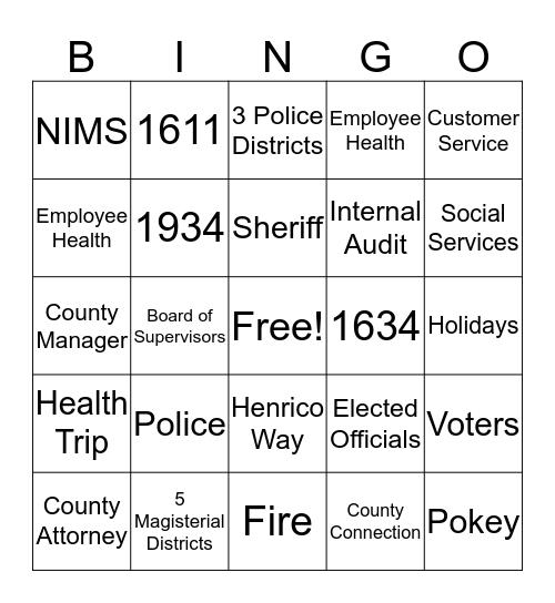 NEO Bingo Game Bingo Card