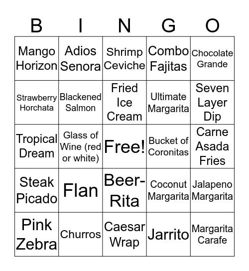 Bingo Bingo Bingo Bingo Bingo  Bingo Card