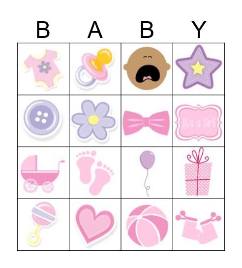 El Baby Bingo Card