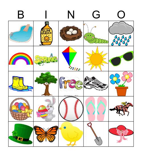 Spring Bingo! Bingo Card