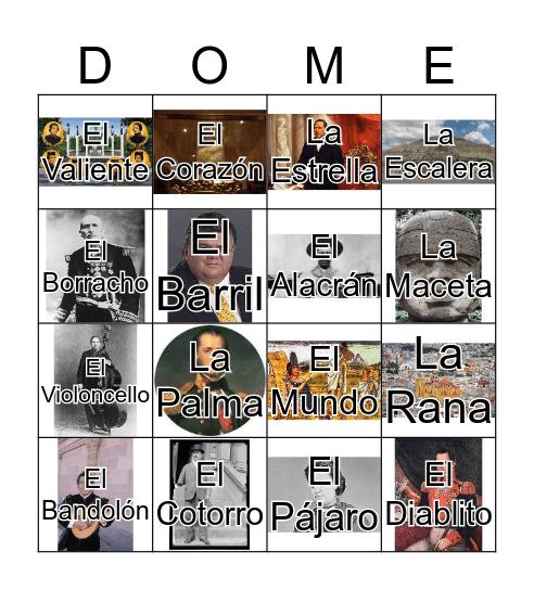 LOTERÍA-HISTORIA Bingo Card