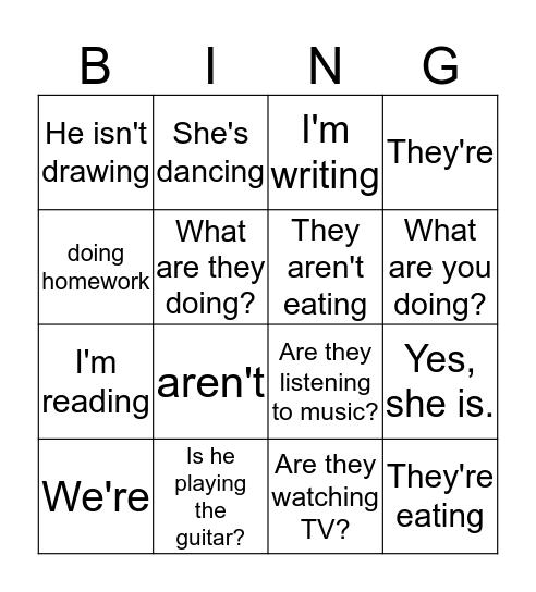 Green unit 1 Bingo Card