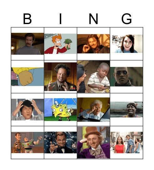 Meme Bingo Card
