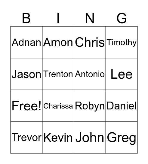 KYC4 BING! Bingo Card