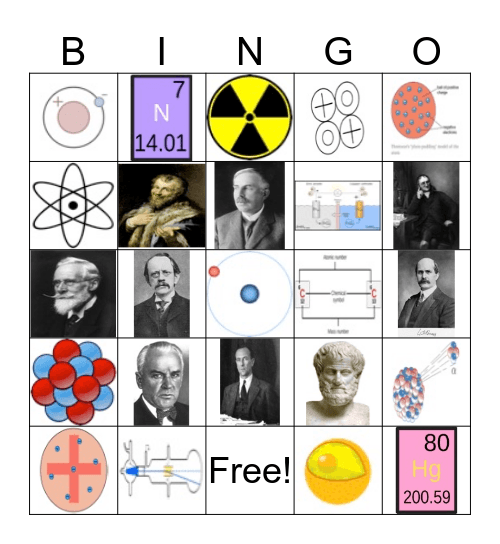 Chapter 4 Bingo Card